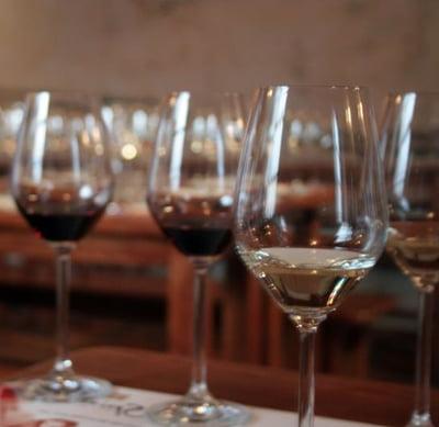 wine tasting at Bodega Wine Shop, Socorro NM