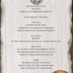 Bodega Beer Dinner September 19