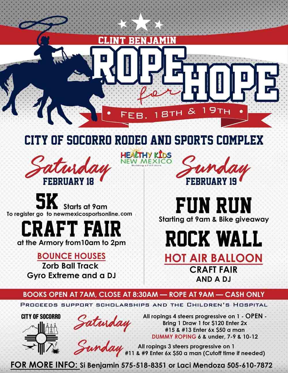Inaugural rodeo in Socorro New Mexico